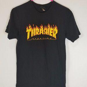 Thrasher Magazine black t shirt size S